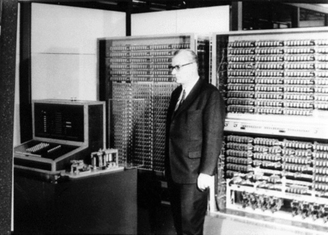 First Computer Controlled by Software