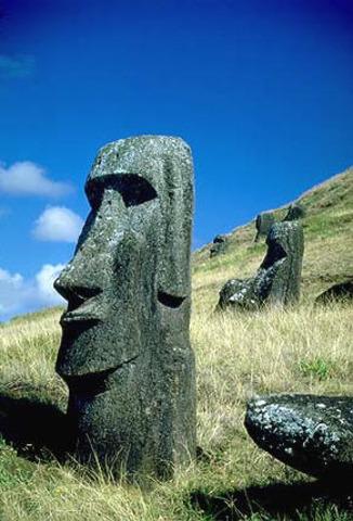 Moai Ancestor Figures