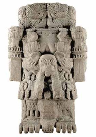 Statue of Goddess Coatlicue