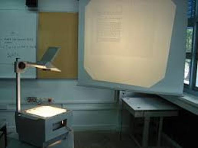 OHP, LCD projectors