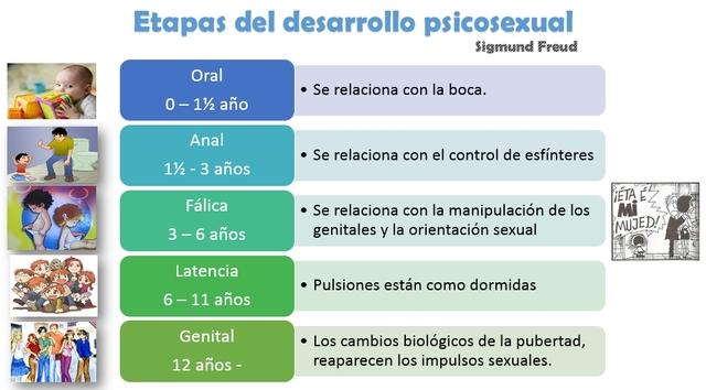 ETAPAS DEL DESARROLLO PSICO SEXUAL - FREUD