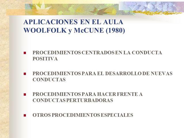 WOOLFOLK Y MCCUNE