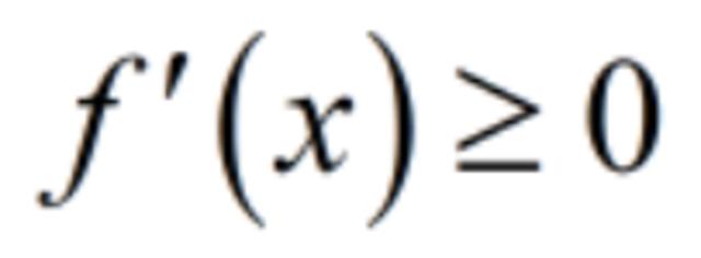 Calculate the (first) derivative