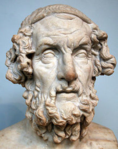 Events in the Iliad and the Odyssey took place