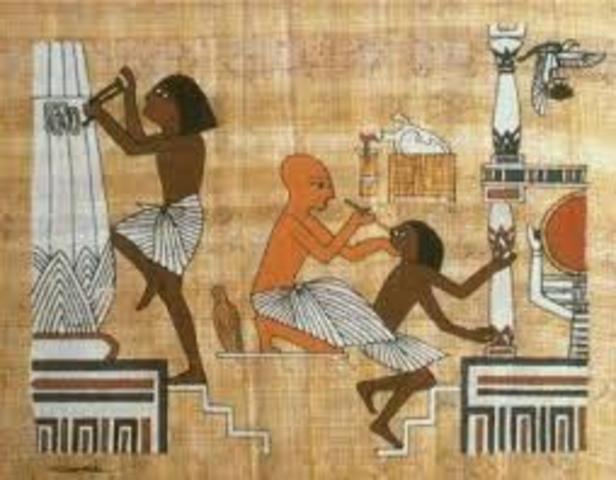 FIGURA DE INSPECTOR 1450 a.C