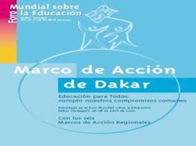 MARCO DE ACCIÓN DE DAKAR
