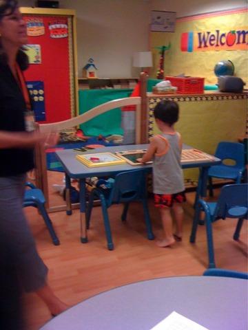 eleni boulougouris goes to kindergarden :)