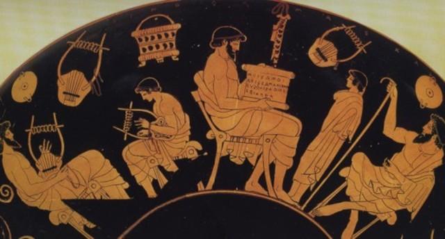 La música en la educación Grecia