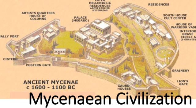 Rise of Mycenae Power