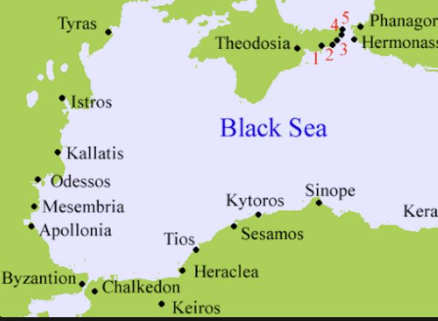 Byzantium founded