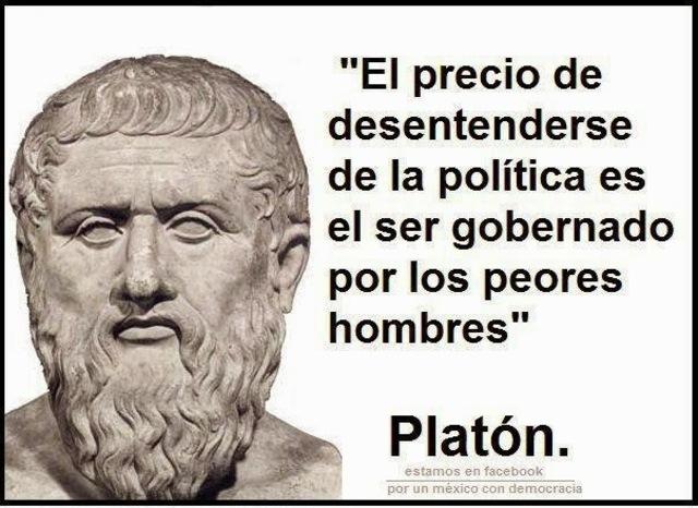 Platón  y la pedagogía política