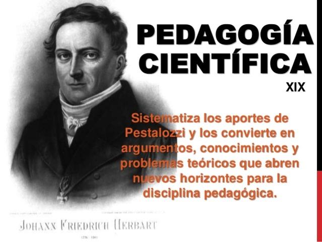 Herbart y la pedagogía científica