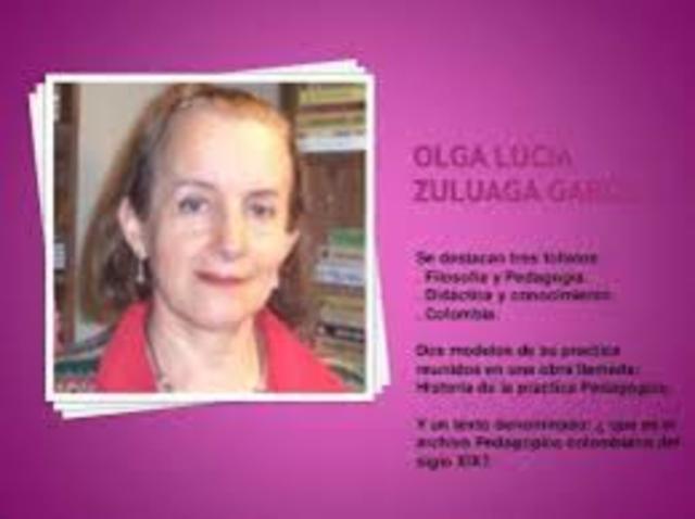Zuluaga- pedagogía e historia