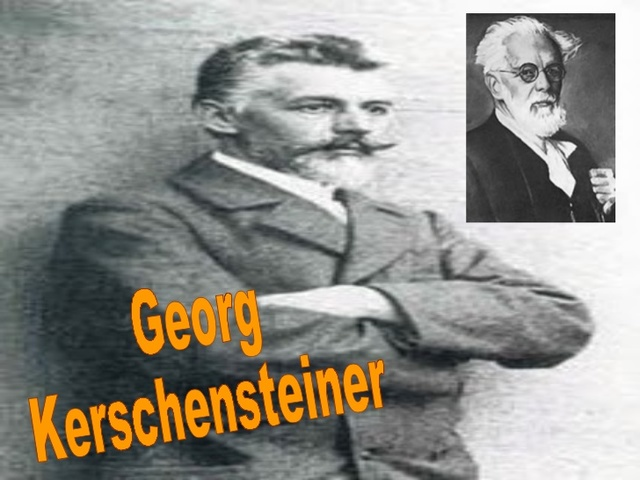 Kerschensteiner- la pedagogía moral y cívica