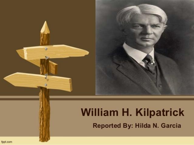 Kilpatrick y la metodología de proyectos
