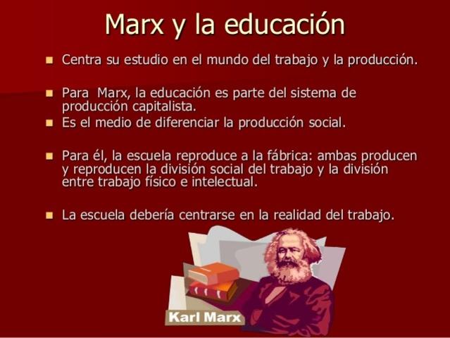 Pedagogía socialista Marxista