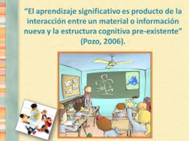 Pozo y el aprendizaje significativo