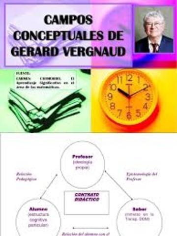 La teoría de los campos conceptuales de Vergnaud