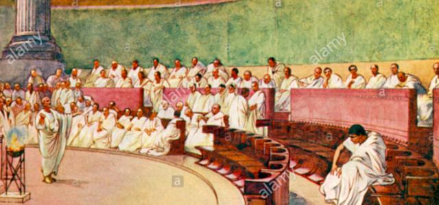 Hippias toppled & Roman senate becomes executive body