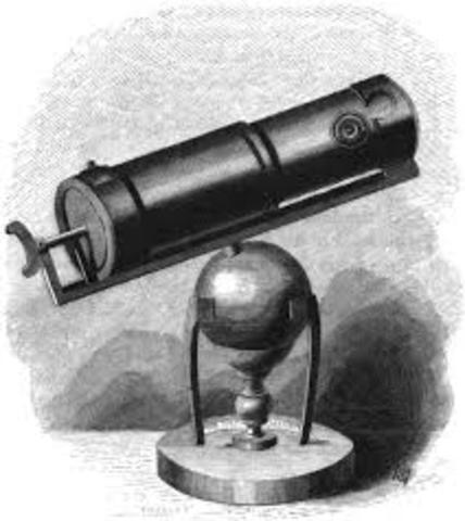 Sir Isaac Newton builds a telescope