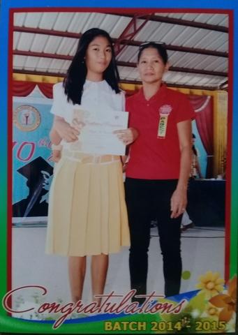 Grade 8 Deserving Student