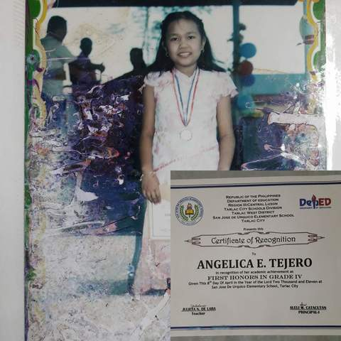 My Grade 4 Recognition