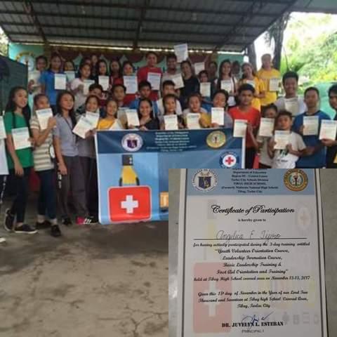 Red Cross Training