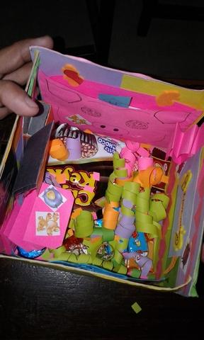 Explosion box for Hannah