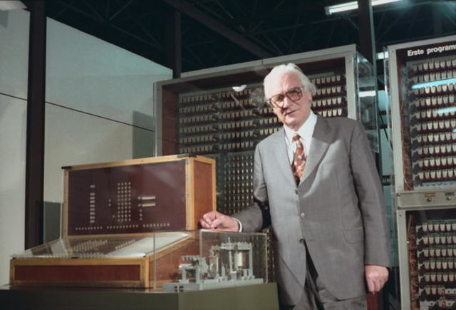 Первая в мире программируемая вычислительная машина Z3