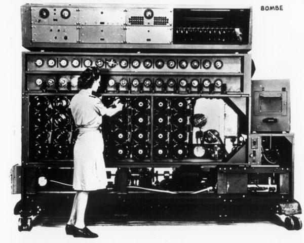 Электронно-механическая машина Turing Bombe