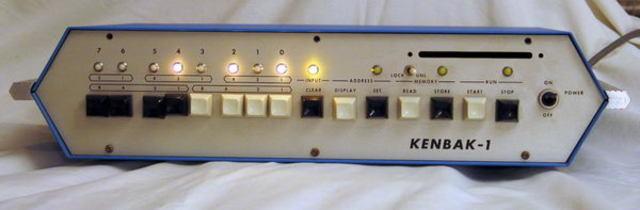 Первый персональный компьютер Kenbak-1