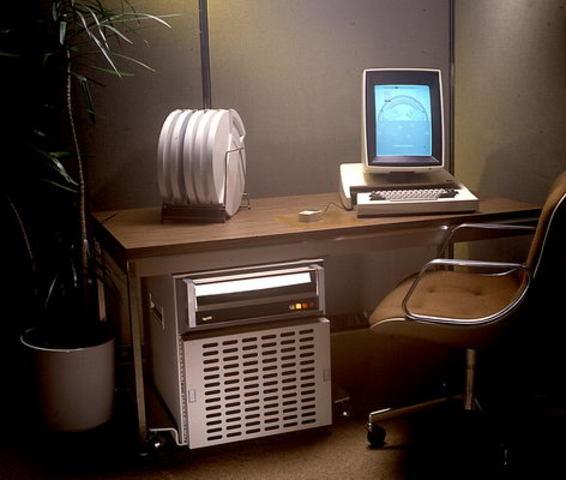 Первый компьютер с мышью Xerox Alto