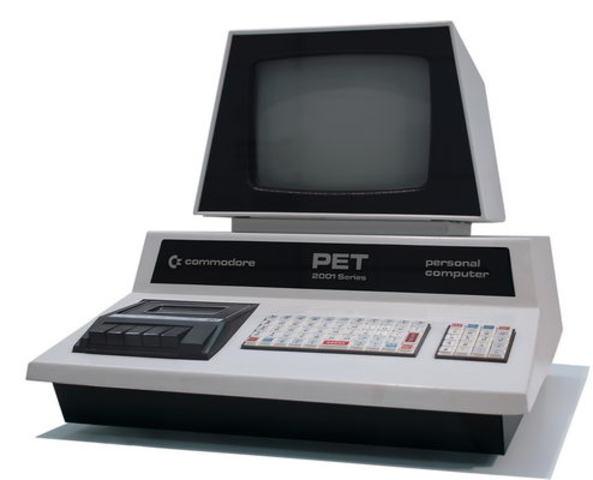 Полнофункциональный компьютер Commodore PET