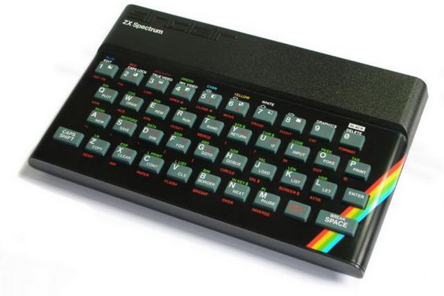Домашний компьютер Sinclair ZX Spectrum