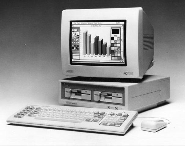 Компьютер Amstrad PC1512