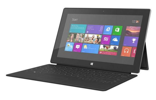 Планшетный компьютер Microsoft Surface