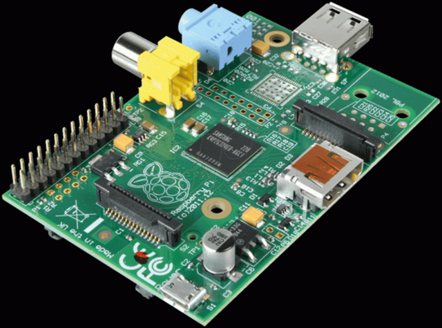 Мини-компьютер Raspberry Pi