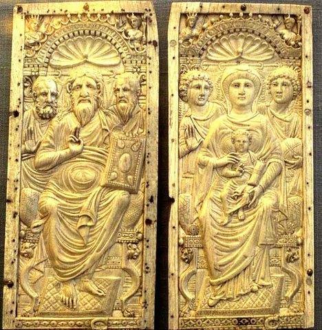 Cristo, Virgen y Niño
