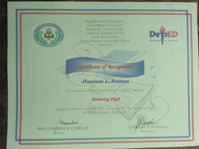 Grade 3 Certification