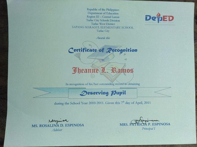 Grade 4 Certification