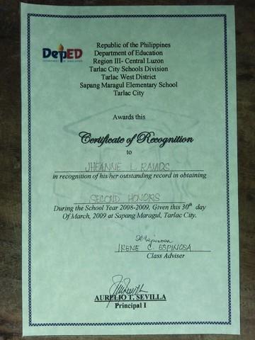 Grade 2 Certification