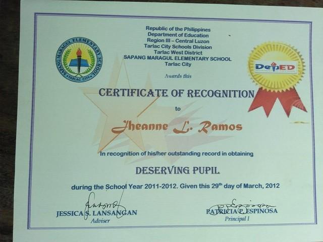 Grade 5 Certification