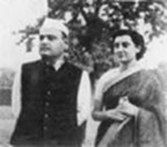 Ghandi's parents