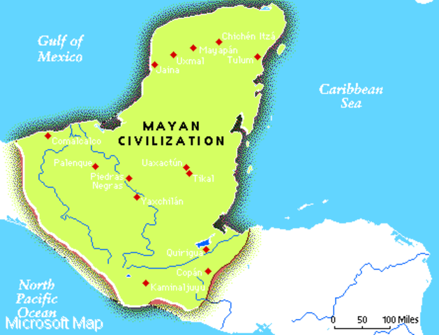 Hernan Cortes Encounter with the Mayans