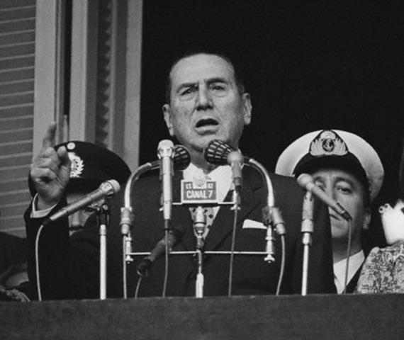 Fallecimiento del Pte. Juan Domingo Perón