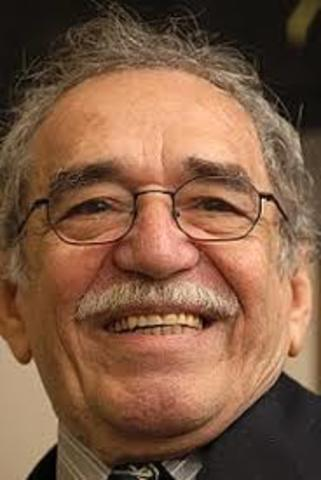 I had not been born when Gabriel Garcia Marquez won the Nobel prize for literature.