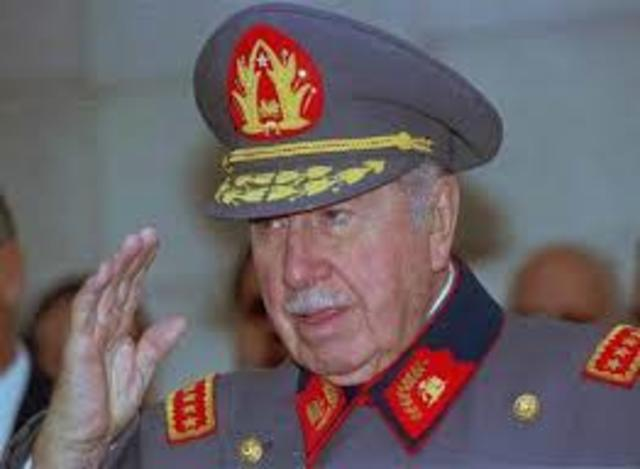 I graduated as a professional when Augusto Pinochet died.