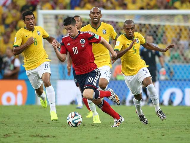 When I was pregnant with my second child, the Colombian team reached the quarterfinals at the World Cup in Brazil