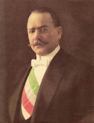 Álvaro Obregón Periodo presidencial:1920-1924