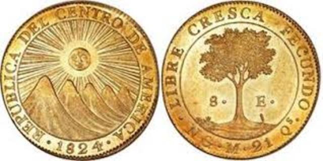 Moneda federación de Centro América